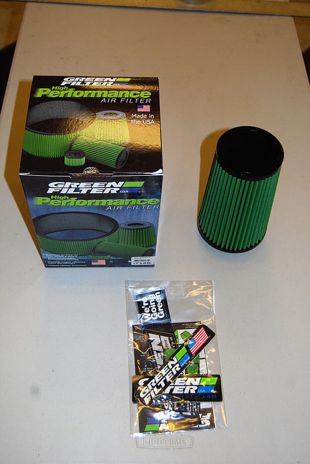 9a13cc7136 High Flow Green Filters for 2.75-inch Intake Systems - The Shop Houston