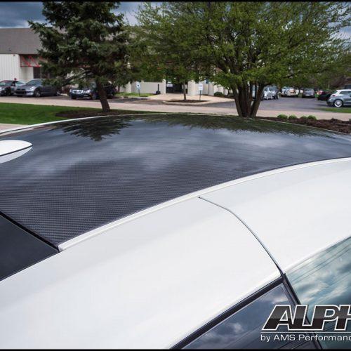 ALPHA PERFORMANCE R35 GT-R CARBON FIBER ROOF