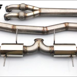 "ETS Nissan GTR 4.0"" (102mm) Stainless Steel Exhaust System"