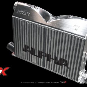 ALPHA PERFORMANCE R35 GTR -RACE X- FRONT MOUNT INTERCOOLER