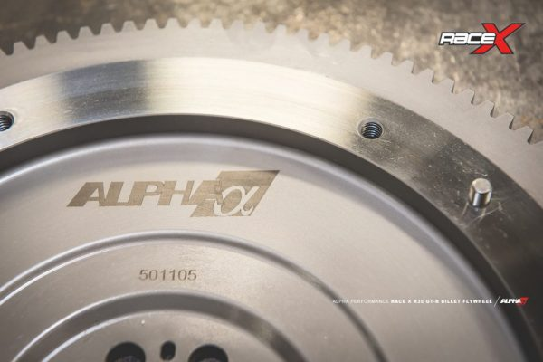 ALPHA PERFORMANCE R35 GT-R RACE X ONE PIECE BILLET FLYWHEEL