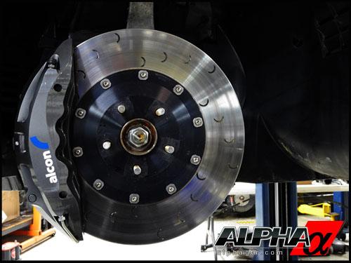 ALCON NISSAN R35 GT-R BIG BRAKE SUPER KIT