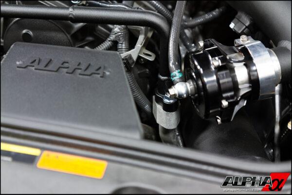 ALPHA PERFORMANCE R35 GT-R FUEL COOLER