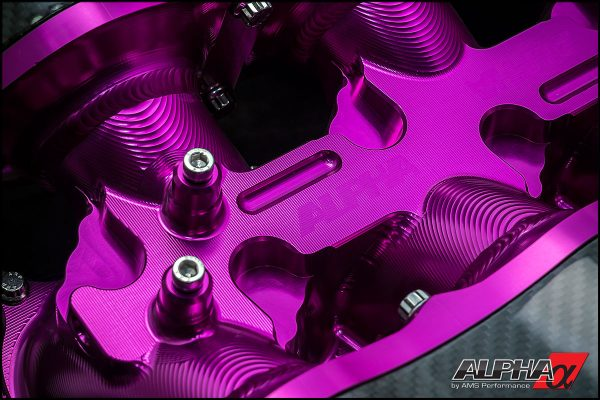 ALPHA PERFORMANCE R35 GT-R CAST ALUMINUM INTAKE MANIFOLD PLENUMS