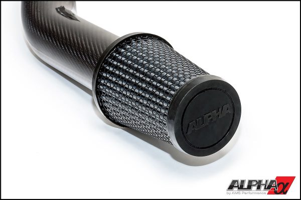 ALPHA R35 GTR CARBON FIBER COLD AIR INTAKE