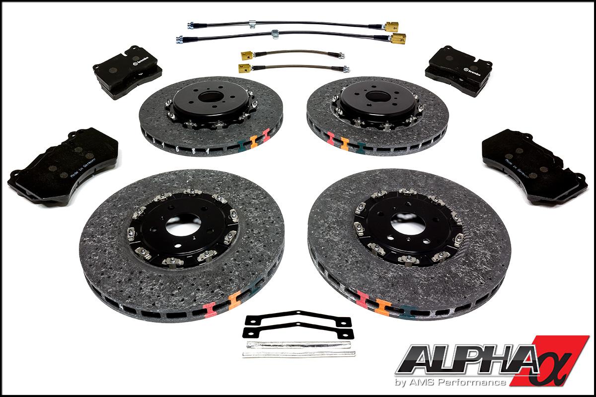 AMS Performance Alpha Performance R35 GT-R Carbon Ceramic Brake Package