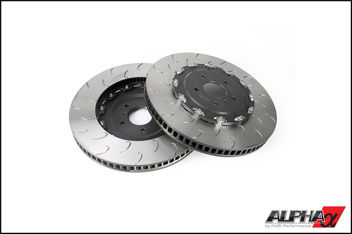 AP Racing Front J-Hook Replacement Rotors (2012+ R35 GT-R) [NIS3920AJ]